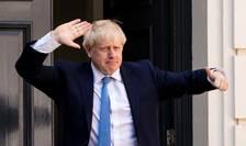 Boris Johnson la Londra pe 19 august 2019