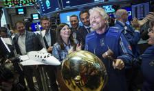 Britanicul Richard Branson a spus cà va fi primul miliardar care va zbura în spatiu.
