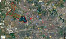 Zona identificată de ECOPOLIS în vecinătatea Lacului Morii (Sursa foto: ECOPOLIS)