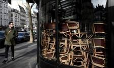 Franţa cu toate cafenelele închise – un peisaj inedit, fără precedent.