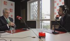Călin Popescu Tăriceanu, în studioul RFI