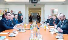 David Cameron si Martin Schulz