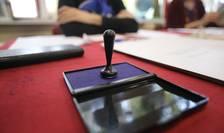 Secție de votare din Timișoara, la alegerile din noiembrie 2019 (Sursa: MEDIAFAX FOTO/Emanuel Titus Iliesi)