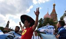 Suporteri sud-americani, la CM de fotbal din Rusia (Foto: AFP/Vasily Maximov)