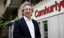 Can Dündar, redactor-sef al ziarului turc de opozitie Cumhuriyet, 3 iunie 2015 la Istanbul