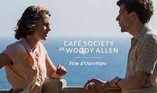 """Afisul filmului """"Café Society"""" prezentat de Woody Allen în deschiderea celei de-a 69-a editie a Festivalului de film de la Cannes"""