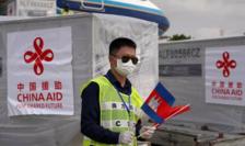 Ajutoare chineze trimise în Cambodgia, martie 2020