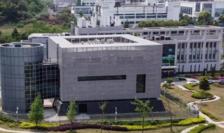 Laboratorul P4 al Institutului de virusologie de la Wuhan, 17 aprilie 2020