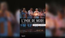 Coperta cărţii scrisă de cercetătorul Christophe Jaffrelot despre India lui Narendra Modi, Editura Fayard