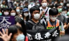 Protestatari la Hong Kong, 24 mai 2020