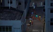 Singapore a cunoscut un al doilea val de contaminări care i-a afectat în special pe muncitorii imigranţi.