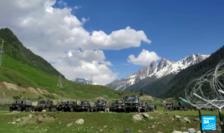 Trupe indiene în Himalaia, la frontierea cu China.
