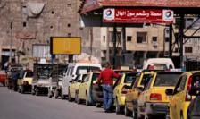 Penurie de benzină în Siria.