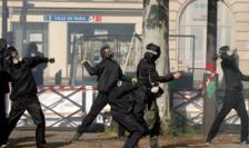 Atacuri îndreptate împotriva poliţiei de Întîi Mai