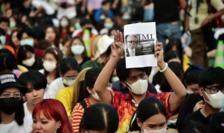 Proteste la Bangkok, februarie 2020