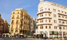 """Beirut, place de l'Étoile. A fost o vreme cînd Beirutul era numit """"Parisul Orientului"""""""