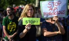Mobilizare împotriva feminicidelor, 6 iulie 2019, Paris.
