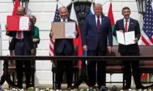 """Casa Albă, 15 septembrie 2020: Donald Trump anunţă """"naşterea unui nou Orient Mijlociu"""""""