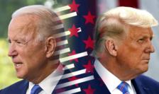 Joe Biden şi Donald Trump deveniţi simboluri ai unei Americi profund fracturate.