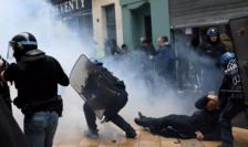 Violenţe în contextul unei manifestaţii la Bordeaux, 16 noiembrie 2019.