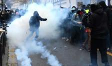 Violenţe la Paris, decembrie 2020.