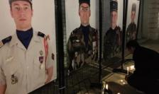 Omagiu adus unor militari francezi morţi în Mali în 2019.
