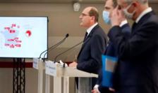 Conferinţă de presă a premierului francez Jean Castex.