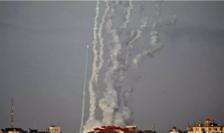 Rachete trase din Gaza spre Israel, 10 mai 2021