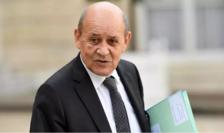Jean-Yves Le Drian, ministrul de externe francez