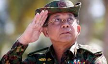 Min Aung Hlaing, şeful juntei birmane (imagine din2018)