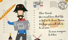 Cartea postala realizata de catre Europol în cadrul unei campanii derulate pentru prinderea celor mai cautati fugitivi