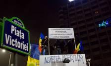 Proteste de stradă în Bucureşti - arhivă (Foto: RFI/Cristi Popescu)