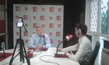 Cătălin Predoiu, în studioul RFI