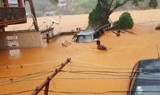 Inundaţii masive în Sierra Leone (Foto: Society 4 climate change communication Sierra Leone/AFP)