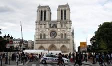 Catedrala Notre Dame a aruncat în aer în timpul incendiului din aprilie importante cantitati de particule de plumb.