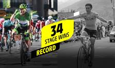 Mark Cavendish și Eddy Merckx