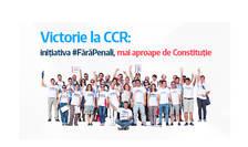 """Campania """"Fără penali"""" trece testul la CCR (Sursa foto: site USR)"""