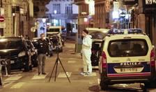 Scena atacului de la Paris (Foto: AFP/Geoffroy van der Hasselt)