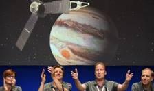 Cercetători NASA, la centrul din Pasadena, California (Foto: AFP/Robyn Beck)