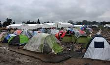 Centrul de refugiati de la Idomeni, Grecia