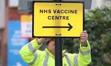 Centru de vaccinare în Londra