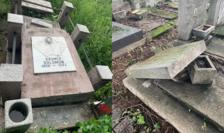 Cimitir evreiesc Ploiești profanat