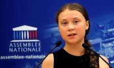 Greta Thunberg, aici în Parlamentul francez, iulie 2019 (Sursa foto: Reuters/Philippe Wojazer)