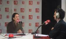 Clotilde Armand, în studioul RFI (Foto: Amedeo Achim)