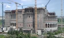 Şantierul Catedralei Mântuirii Neamului (Foto: RFI/Cosmin Ruscior)