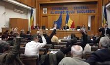 Sala de şedinţe a Consiliului General al Municipiului Bucureşti