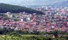 Vedere sus a Clujului