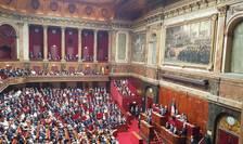 Presedintele Emmanuel Macron în fata Congresului francez reunit la Versailles, 3 iulie 2017