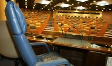 Fotoliul presedintelui consiliului regional al regiunii Ile-de-France, cea mai mare a Frantei