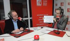 Constantin Rudniţchi si Iancu Guda in studioul RFI Romania